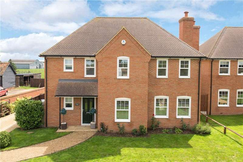 4 Bedrooms Detached House for sale in Cople Road, Cardington, Bedford, Bedfordshire