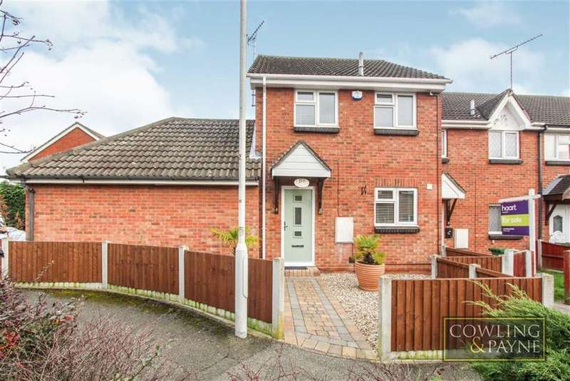 3 Bedrooms End Of Terrace House for sale in Benham Walk, Basildon, Essex