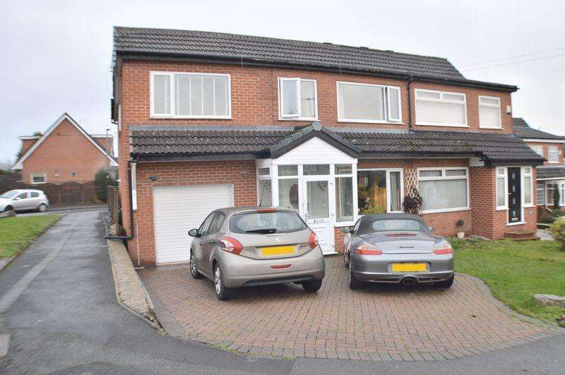 4 Bedrooms Semi Detached House for sale in Oval Drive, Dukinfield