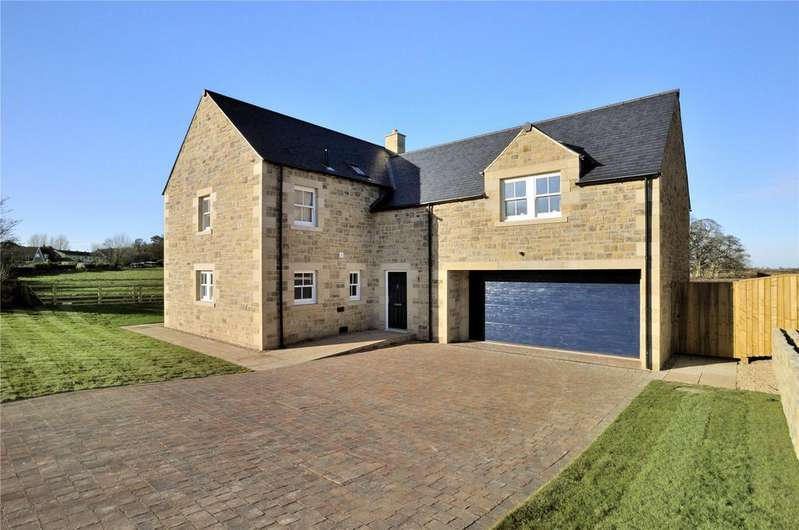 4 Bedrooms Semi Detached House for sale in Home Farm, Ellingham, Chathill, Northumberland, NE67