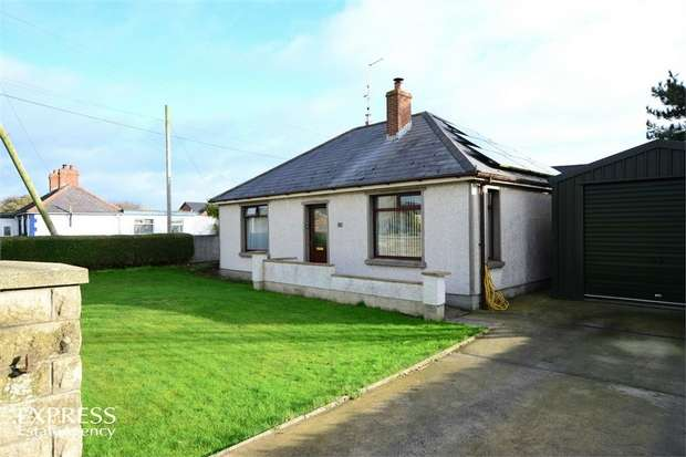 2 Bedrooms Detached Bungalow for sale in Main Road, Cloughey, Newtownards, County Down