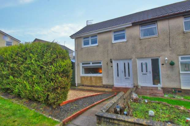 3 Bedrooms Semi Detached House for sale in Bute Road, East Ayrshire, Ayrshire, KA18 1BE