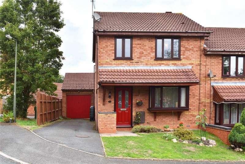 3 Bedrooms Semi Detached House for sale in Cygnet Close, Alvechurch, Birmingham, B48