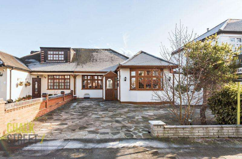 3 Bedrooms Semi Detached Bungalow for sale in Elmhurst Drive, Hornchurch, RM11