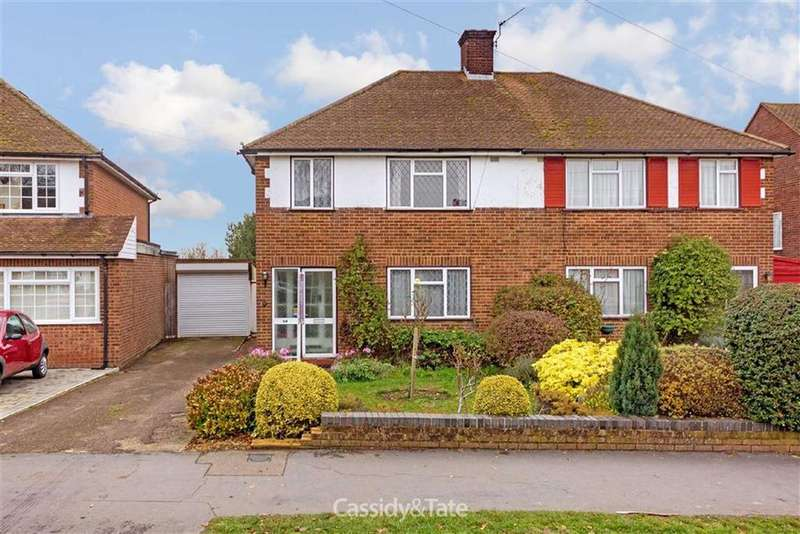 3 Bedrooms Semi Detached House for sale in The Ridgeway, St Albans, Herts
