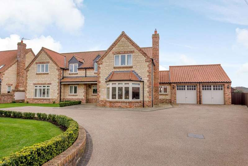 4 Bedrooms Detached House for sale in Field Gate House, Fir Tree Lane, Sudbrook, Grantham, NG32