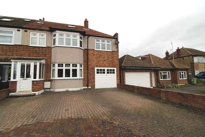 5 Bedrooms End Of Terrace House for sale in Acacia Gardens, Cranham, Essex, RM14