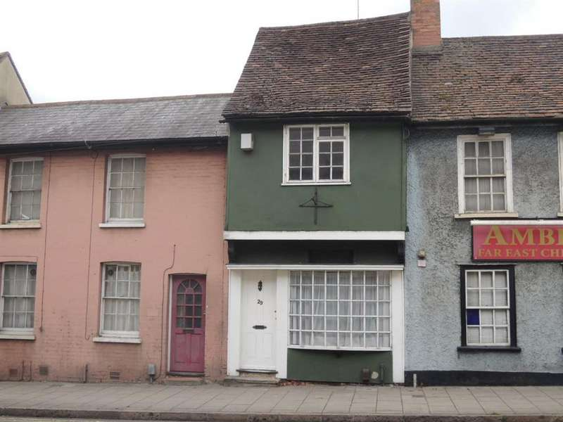 2 Bedrooms Cottage House for sale in East Hill, Colchester