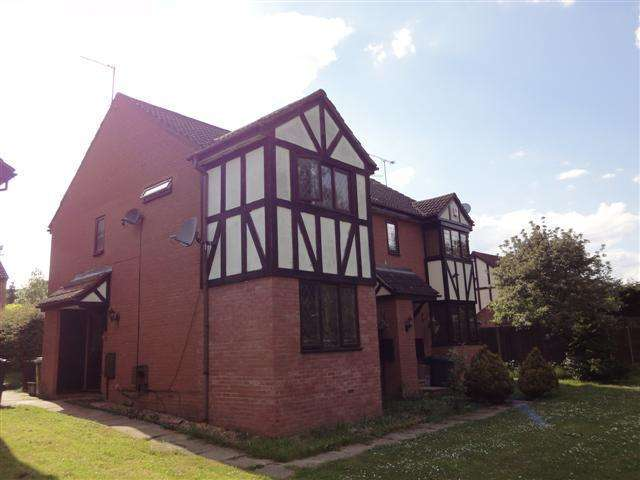 2 Bedrooms Cluster House for sale in Felbrigg Close, Wigmore, Luton, LU2 8UL