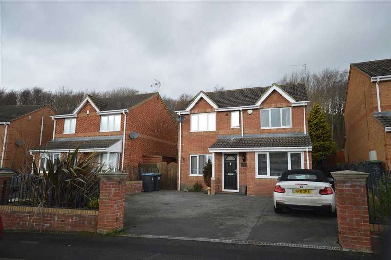 4 Bedrooms Detached House for sale in Mowlam Drive,, Stanley