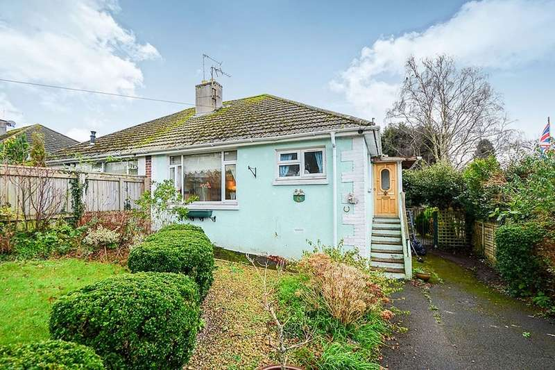 2 Bedrooms Semi Detached Bungalow for sale in Twickenham Road, Newton Abbot, TQ12