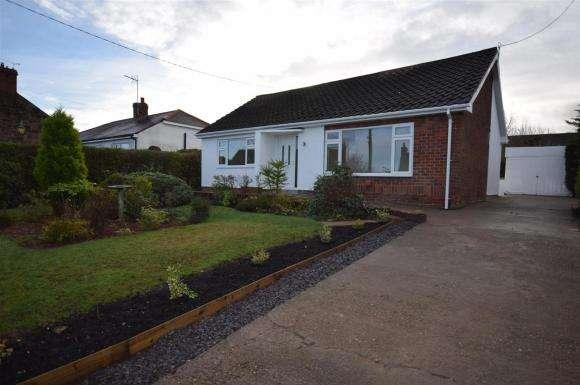 3 Bedrooms Bungalow for sale in Waen Road, Coedpoeth, Wrexham