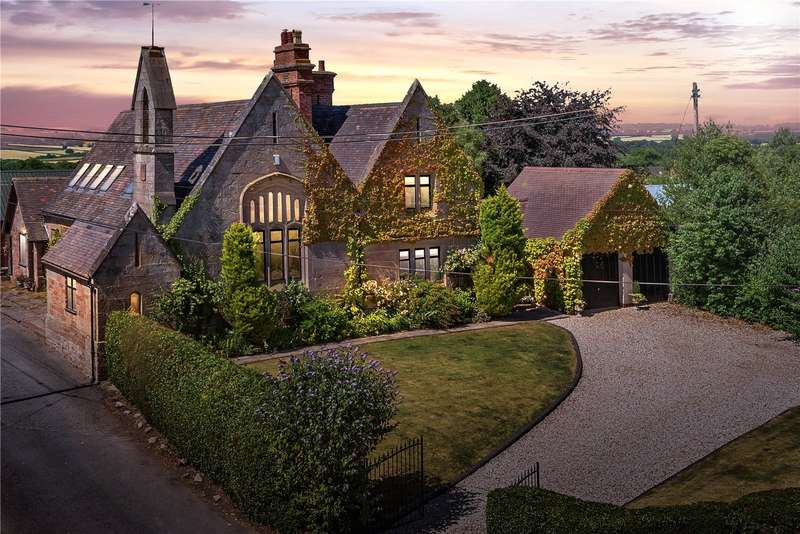 5 Bedrooms Detached House for sale in The Old School House, Chelmarsh, Bridgnorth, Shropshire, WV16