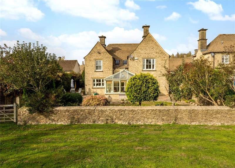5 Bedrooms Detached House for sale in The Paddocks, Baunton, Cirencester, Gloucestershire, GL7