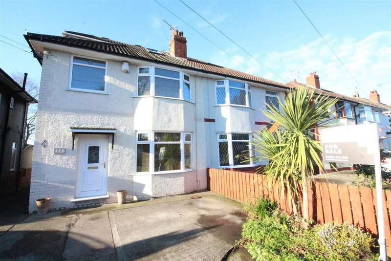 4 Bedrooms Semi Detached House for sale in Gillshill Road, Hull