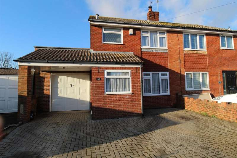 3 Bedrooms Semi Detached House for sale in Stockwood Lane , Stockwood , Bristol, BS14 8SZ