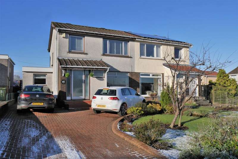 3 Bedrooms Semi-detached Villa House for sale in Moss Drive, Barrhead G78