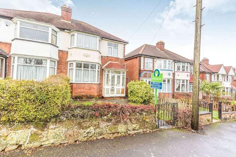 3 Bedrooms Semi Detached House for sale in Lickey Road, Rednal, Birmingham, B45