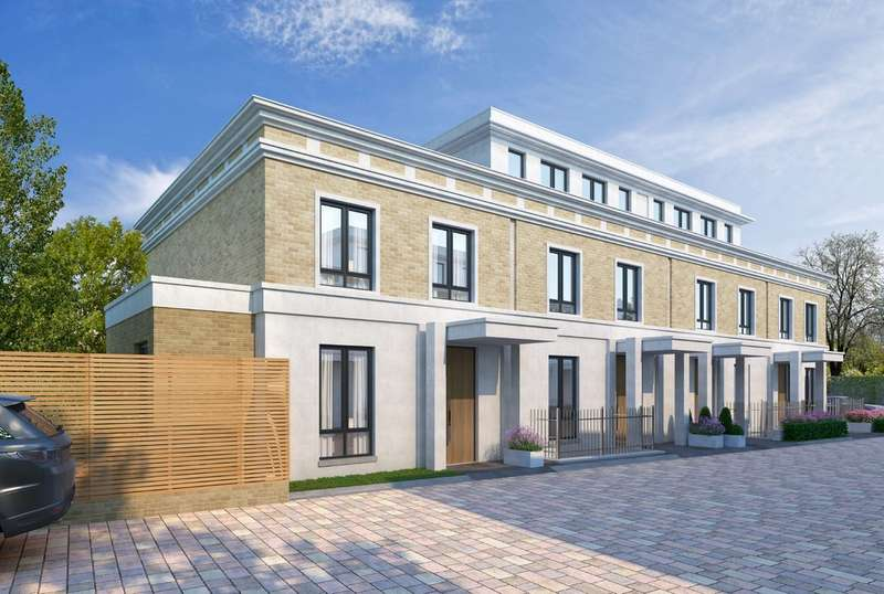 4 Bedrooms End Of Terrace House for sale in Basilica Mews, Thurleigh Road, London, SW12