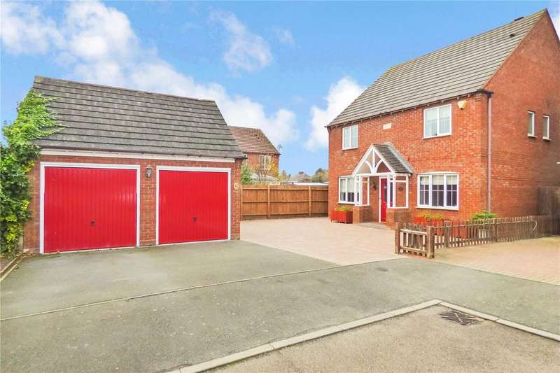 4 Bedrooms Detached House for sale in Pinfold Close, Hinckley, Leicestershire, LE10