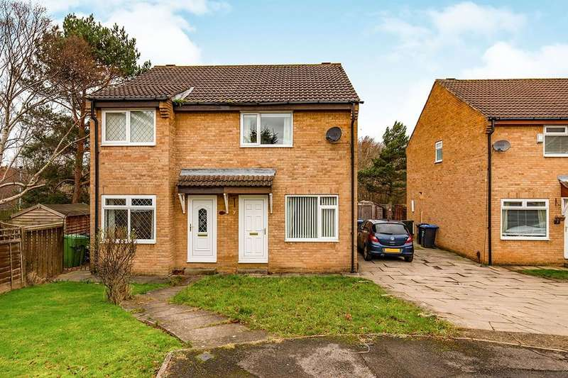 2 Bedrooms Semi Detached House for sale in Willowbank, Coulby Newham, Middlesbrough, TS8