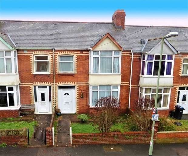 3 Bedrooms Terraced House for sale in First Avenue, Heavitree, EXETER, Devon