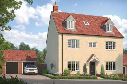5 Bedrooms Detached House for sale in Hardwick Hill, Banbury