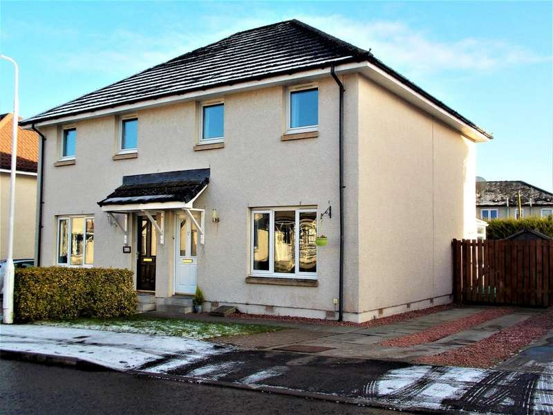 3 Bedrooms Semi Detached House for sale in Sandyhill Road, Tayport DD6