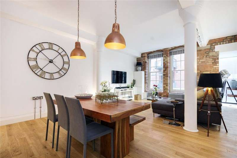 2 Bedrooms Flat for sale in Block A, The Jam Factory, 27 Green Walk, London, SE1