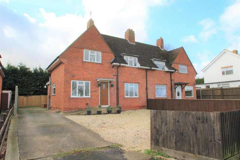 2 Bedrooms Semi Detached House for sale in Theale Road, Burghfield , RG30