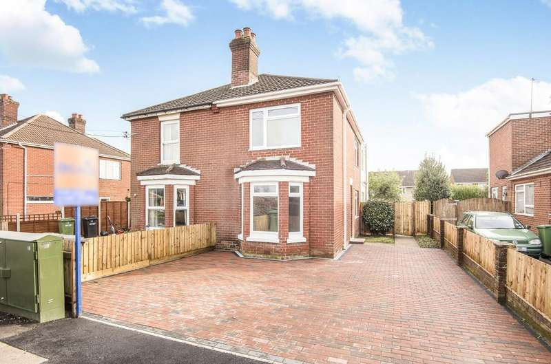 3 Bedrooms Semi Detached House for sale in Upper Northam Road, Hedge End