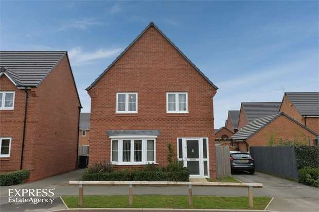 4 Bedrooms Detached House for sale in Higher Croft Drive, Crewe, Cheshire