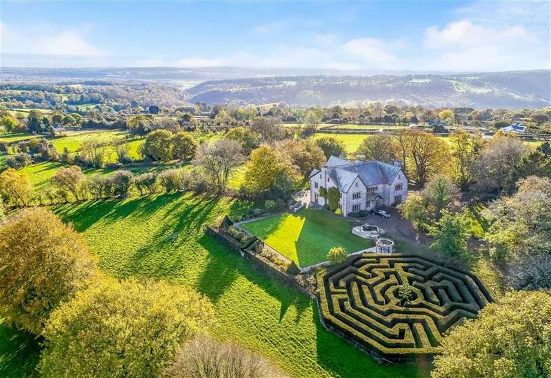 6 Bedrooms Detached House for sale in Near Chepstow, Monmouthshire