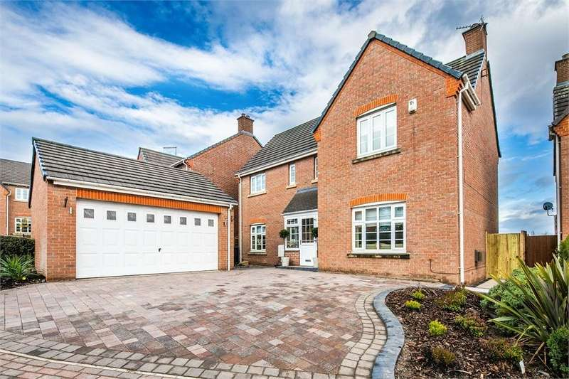 4 Bedrooms Detached House for sale in Garden Walk, Moorgate, Rotherham, South Yorkshire