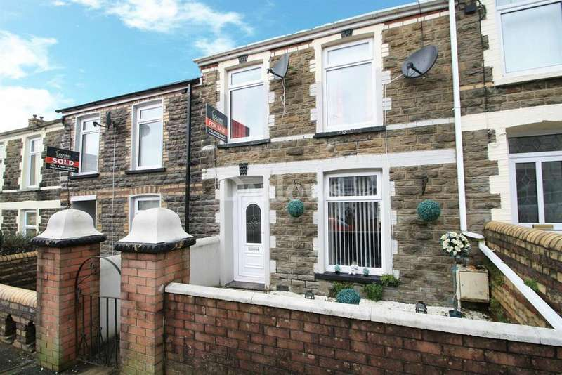 3 Bedrooms Terraced House for sale in James Street, Tredegar, Gwent