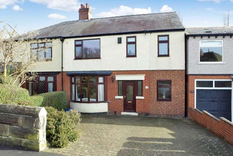 4 Bedrooms Semi Detached House for sale in Hutcliffe Wood Road, Beauchief, Sheffield, S8 0FA