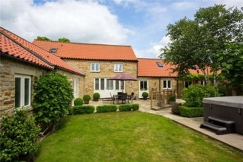 4 Bedrooms Detached House for sale in North Back Lane, Terrington, York, North Yorkshire, YO60