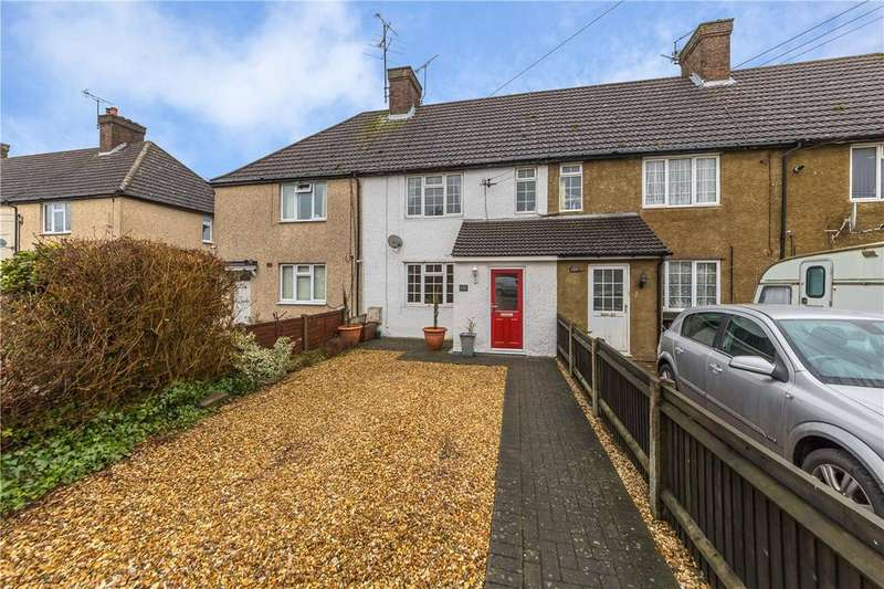 3 Bedrooms Terraced House for sale in Common Road, Kensworth, Dunstable, Bedfordshire