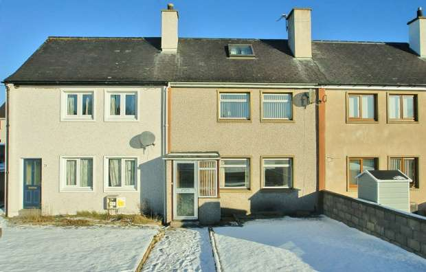 3 Bedrooms Terraced House for sale in Braehead Terrace, Keith, Moray, AB55 4AN