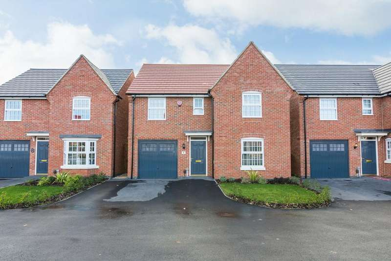 4 Bedrooms Detached House for sale in Whitsome Road, Stenson Fields