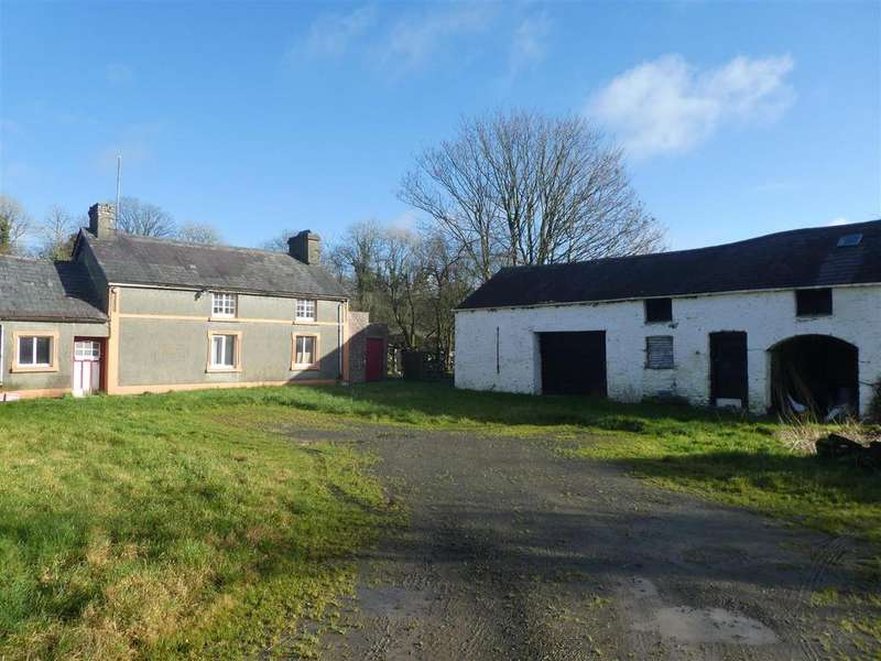 2 Bedrooms Smallholding Commercial for sale in Llanwnnen, Lampeter