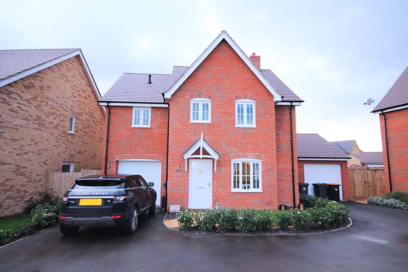 4 Bedrooms Detached House for sale in Markham Rise, Bedford, MK41