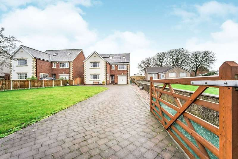 5 Bedrooms Detached House for sale in Blitterlees, Silloth, Wigton, CA7