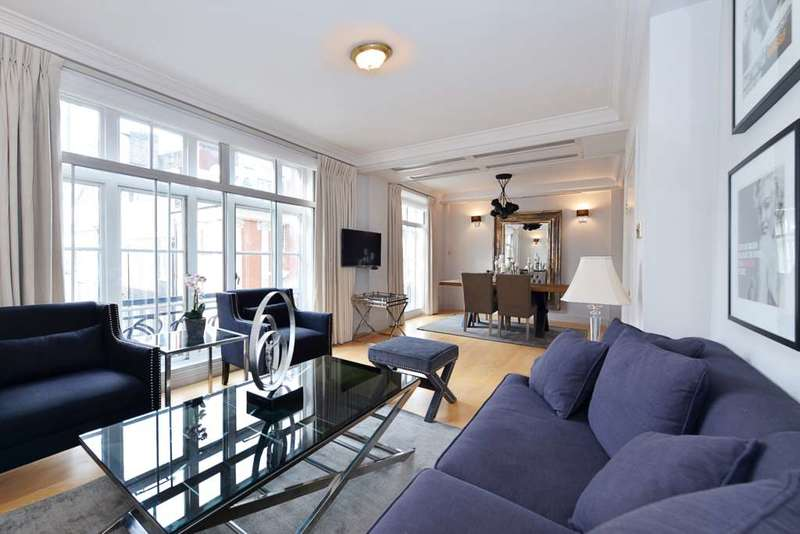 2 Bedrooms Apartment Flat for sale in Carrington House, Mayfair W1