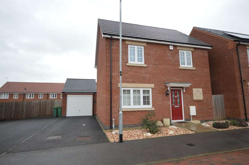 3 Bedrooms Detached House for sale in Peters Close, Enderby, Leicester, LE19 2AH