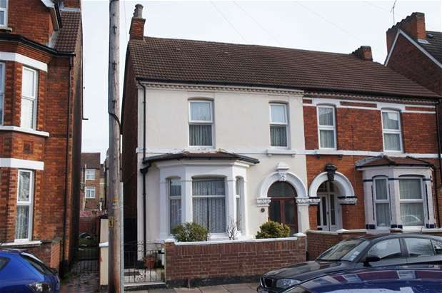 4 Bedrooms Semi Detached House for sale in Rutland Road, Bedford