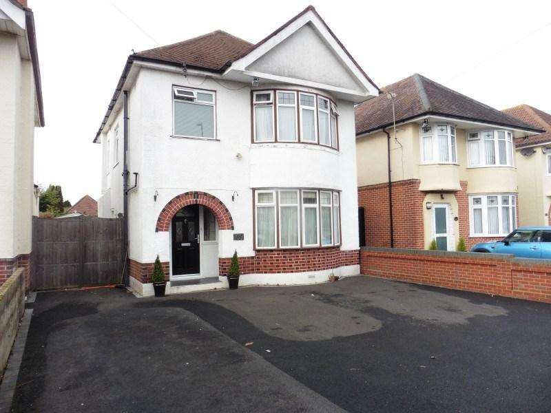 3 Bedrooms Detached House for sale in Leybourne Avenue, Bournemouth