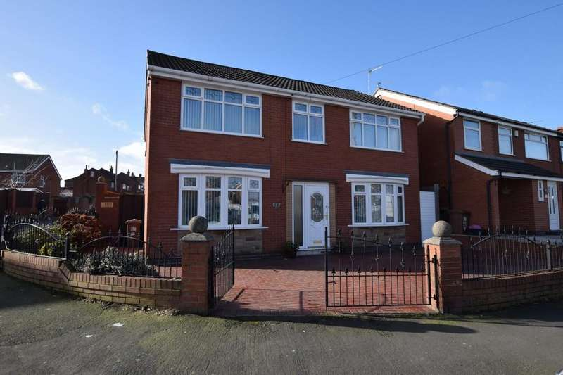 5 Bedrooms Detached House for sale in Nutgrove Hall Drive, Nutgrove, St. Helens