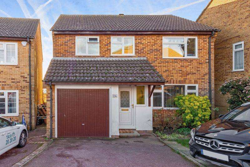 4 Bedrooms Detached House for sale in Anvil Close, Portslade