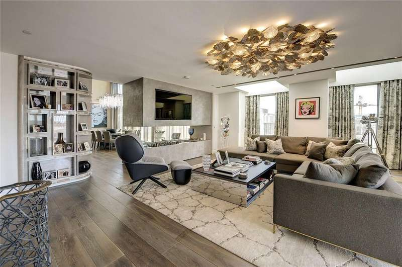 3 Bedrooms Penthouse Flat for sale in Pearson Square, London, W1T